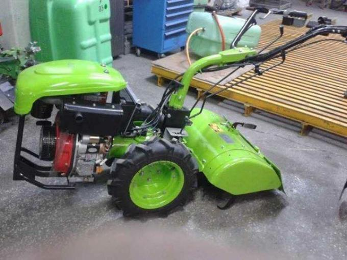 6HP Single Cylinder Air Cooled Diesel Engine Four Stroke For Cultivators