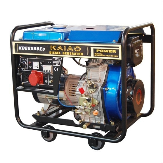 5KVA Air Cooled Diesel Generator Set With 3000/3600rpm Engine Speed Rpm