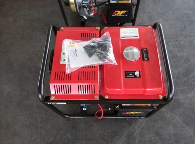 2KW Red Portable Silent Power Generators With Electric Start And Hand Start System