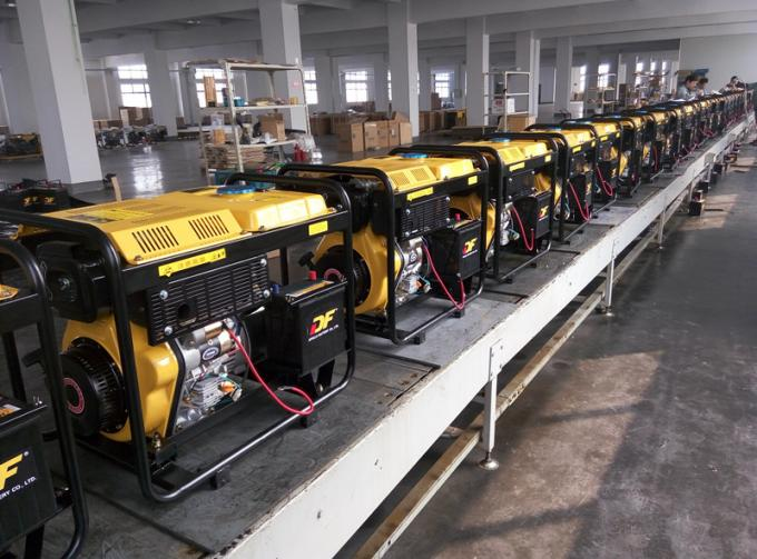 5KVA Open Frame Small Diesel Generators 100% Copper Wire For Home Use
