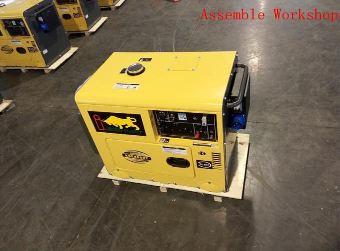 Industrial Air Cooled Quiet Diesel Generator With 3000 / 3600 Rpm Engine Speed