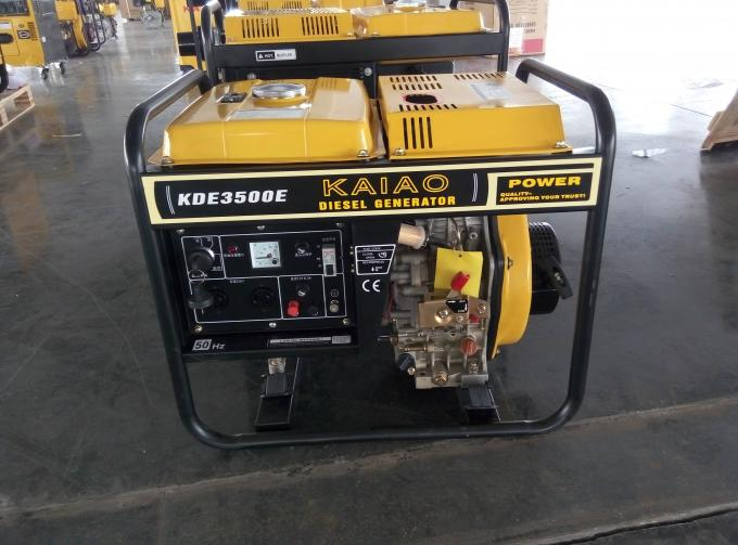 Low Fuel Small Diesel Generators 50 / 60HZ Less Engineering And Programming