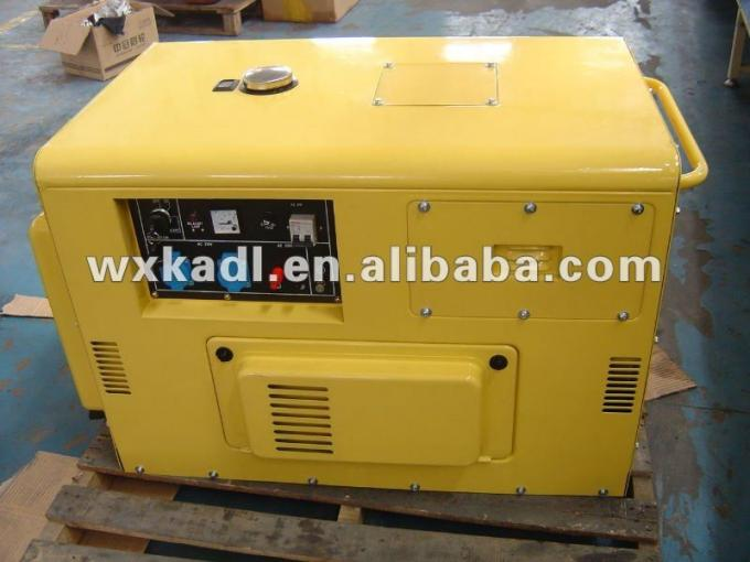 KDE12T 8KW miniature diesel generator , Diesel Engine Generator Set With Electric Starting