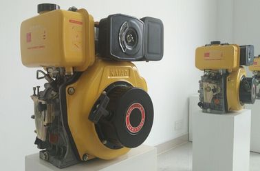China 4kva 3600rpm Manual Starter Small Diesel Engine , Single Cylinder Marine Engine supplier
