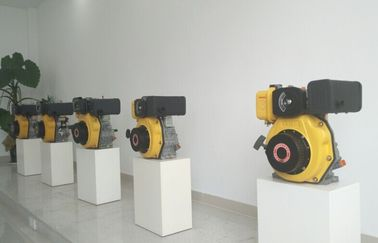China 8kw 1500rpm Portable Diesel Engine Single Cylinder CE ISO Certification supplier