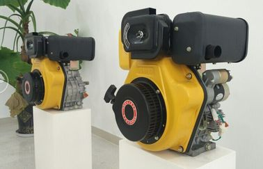 China 7.2kw Electric Starter Small Single Cylinder Diesel Engine For Agriculture Machines supplier