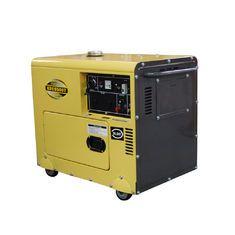 China Fuel Efficient Lightweight Compact Diesel Generator , Enclosed Diesel Generator supplier