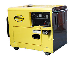 China Commercial 3kva Low Noise Small Diesel Generators Electric Starting System supplier