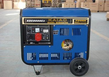 China Open Frame Electric Start Diesel Generator With Kaiao Air-Cooled Engines supplier