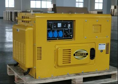China KDE12T Air Cooled Silent Diesel Generator , Silent Power Generator Portable supplier