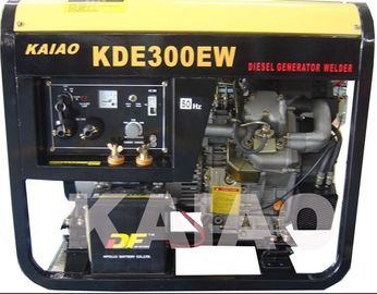 China Single Phase 3kva Diesel Welder Generator , Portable Welding Generator Set supplier