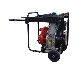 China Cast Iron High Pressure Water Pump Big Fuel Tank KDP30H With Handles And Wheels supplier
