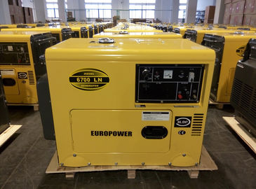 China Weatherproof Soundless Silent Electric Generator Set Low Fuel Consumption supplier