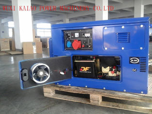 China Silent Type Standby Power Generator , 10KVA Quiet Running Generators With OEM / ISO Certificate supplier