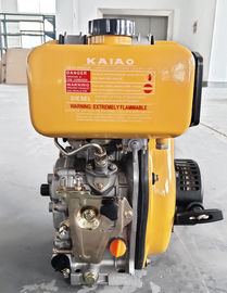 China 4Hp diesel engine KA170F yellow engine from WUXI KAIAO POWER supplier