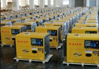 Household Low Noise Diesel Generator Vertical Air Cooled CE ISO Certification
