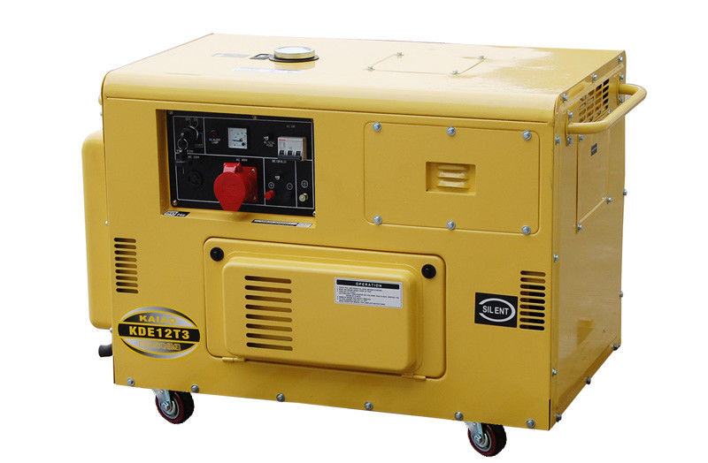 50HZ Triple Phase Small Diesel Generators For Home Backup