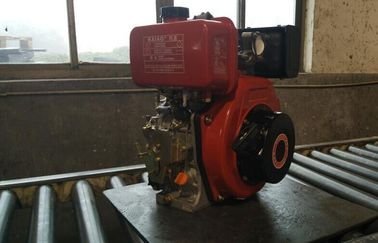 China Electric Starter 6.3kw 1800rpm Power Tiller Engine Single Cylinder KA186FSE distributor