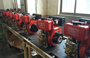 China Electric Starter Single Cylinder Diesel Engine , Small Air Cooled Engines distributor