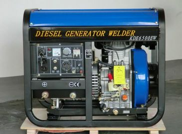 China Open Frame Diesel Welder Generator 50hz 200A 3000rmp With Electric Starter distributor