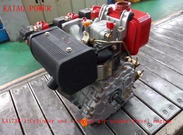 China 0.247L Displacement Air Cooled Diesel Engine With Recoil Start / Electric Satrt System distributor