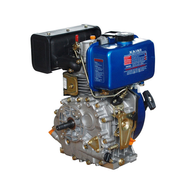Portable 408cc Air Cooled Diesel Engine With Pressure Splashed Lubricating System